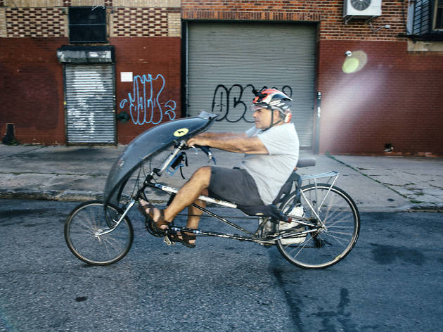 Shelly Mossey photographed in Gowanus, Brooklyn on September 25, 2017