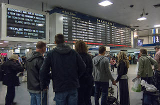 There's nothing more stressful than the Penn Station Scramble