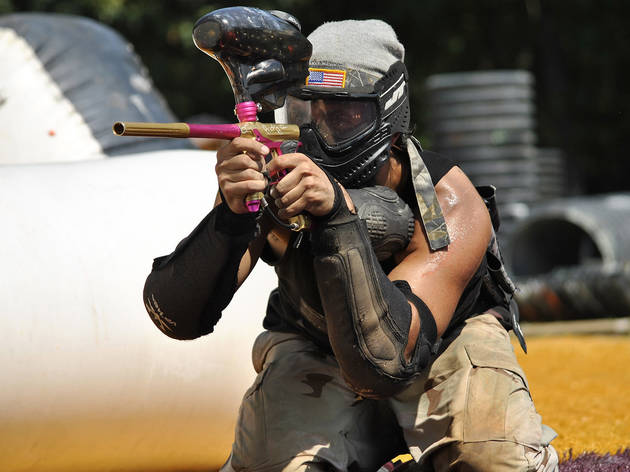 Generic Paintball player