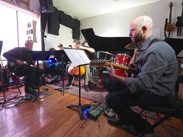 Arad Evans, Brian Karp, Pat Muchmore and Luke Schwartz