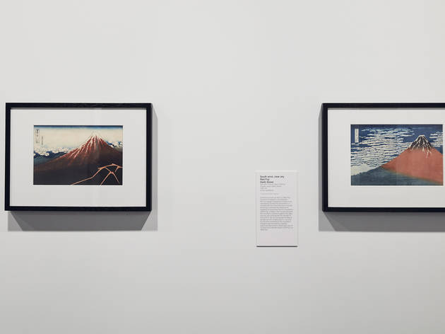 Hokusai NGV 4 (Photograph: Tom Ross)
