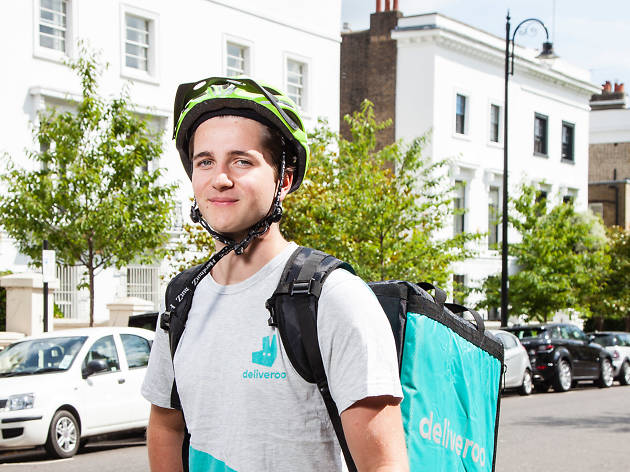 Will Diggle, Deliveroo rider