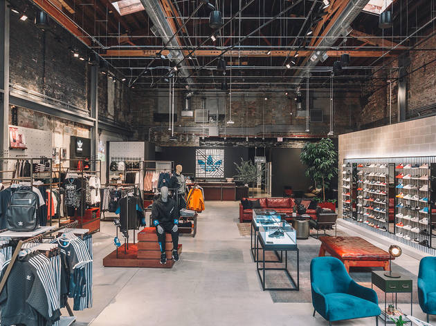 adidas largest flagship store opens in Chicago