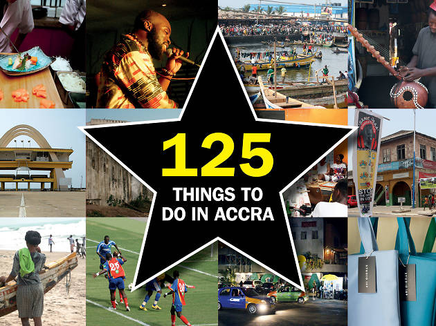 125 things to do in Accra and Ghana