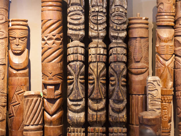 You can own a piece of mid-century tiki history at this gallery show