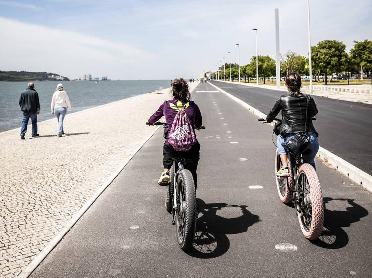 Ciclovias em Lisboa. Só precisa de pedalada para percorrer a cidade
