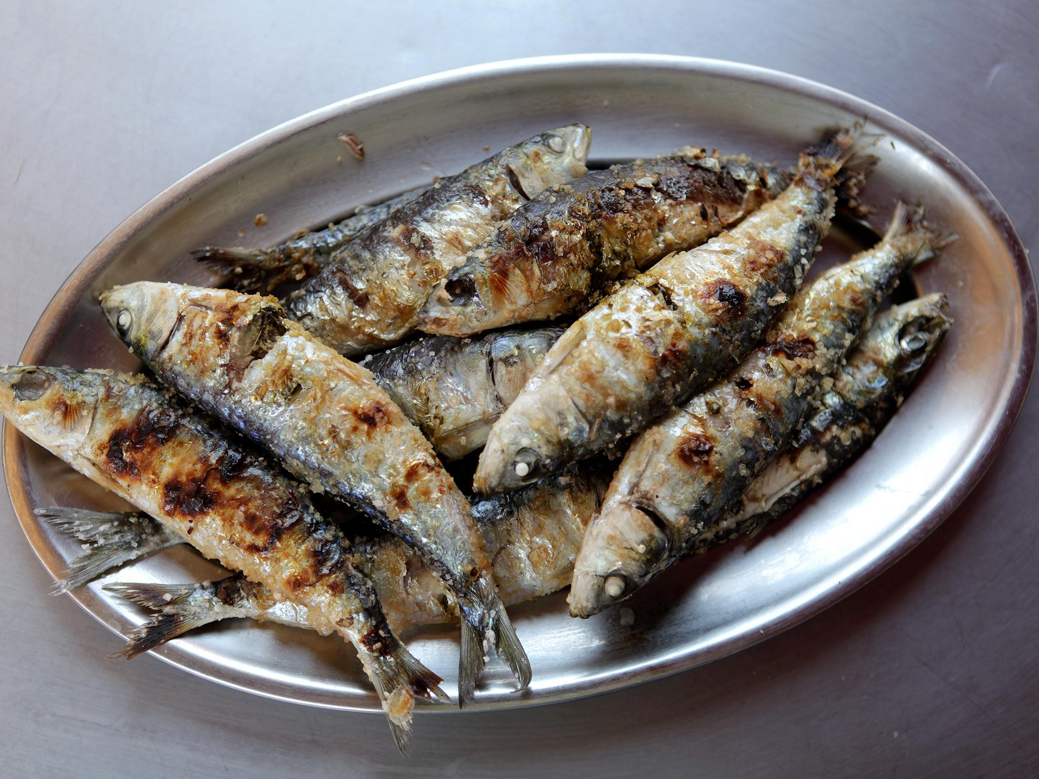 Restaurante, Último Porto, Sardinhas