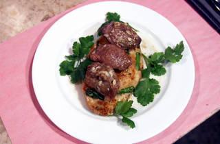 Cantina Lx - Bocechas de Porco com Migas