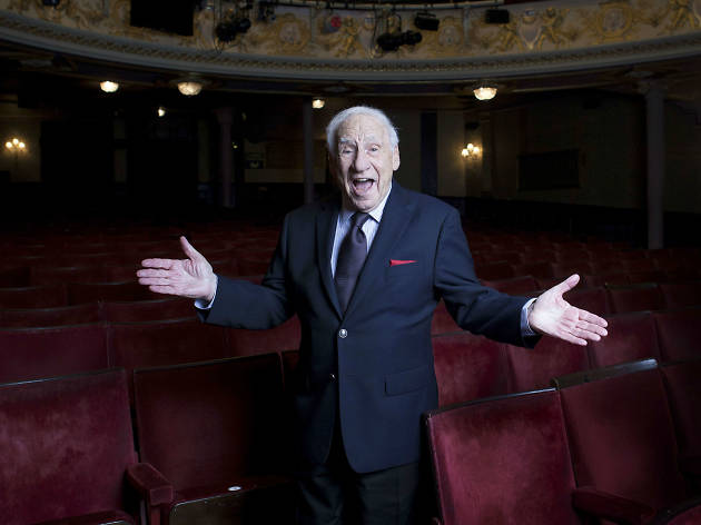 Legendary comic Mel Brooks on his new musical, 'Young Frankenstein'