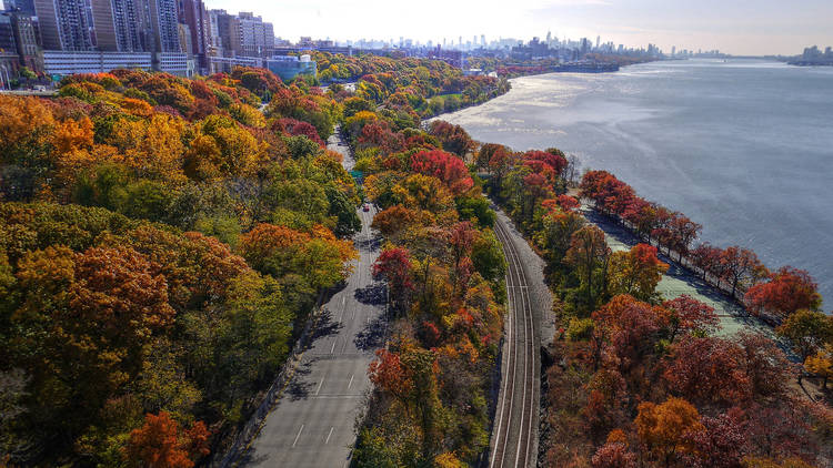 Fall on the Hudson River
