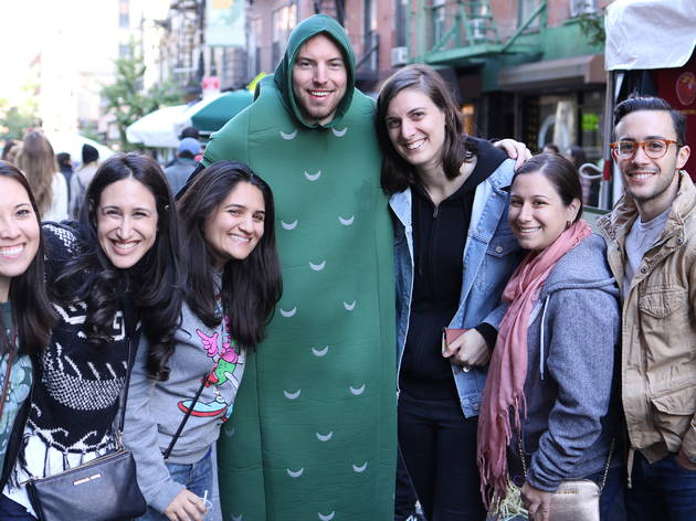 Lower east side pickle day