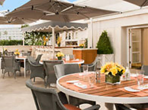 The Roof Garden at The Peninsula Beverly Hills