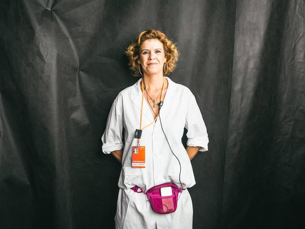 Caras da ModaLisboa #7: Gabriela Vasconcelos, a maratonista sorridente do sitting