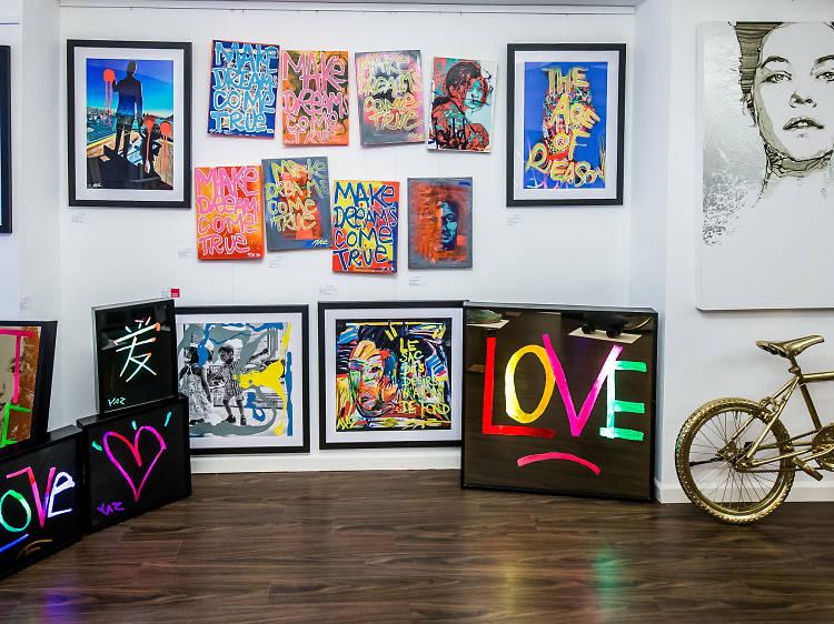 Best galleries in Hong Kong for street art