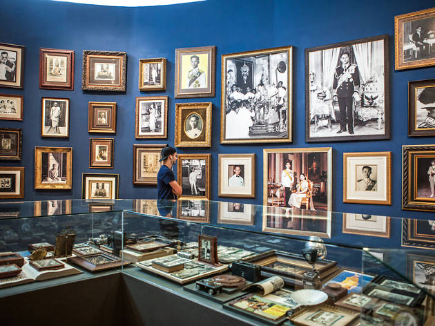 King Bhumibol tribute exhibitions