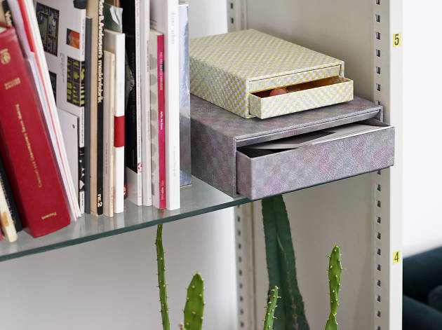 Shelf drawers from Hay