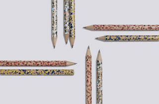 Terrazzo Pencils from Hay