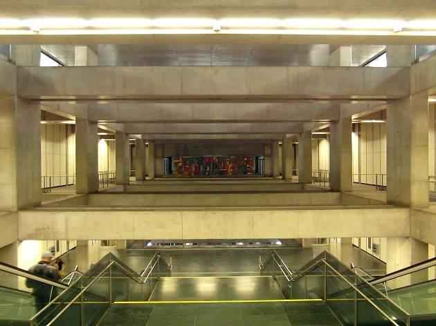 estação de metro terreiro do paço