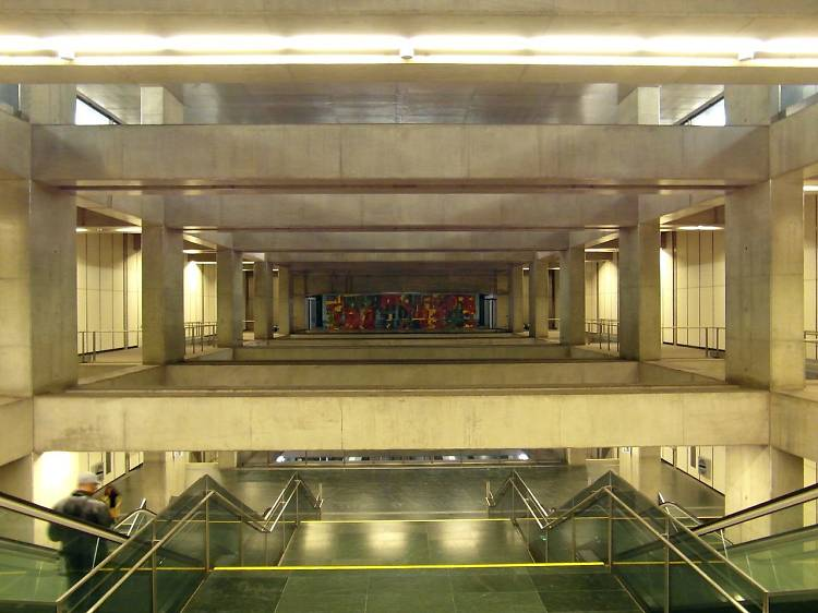 2007 - Estação de metro do Terreiro do Paço