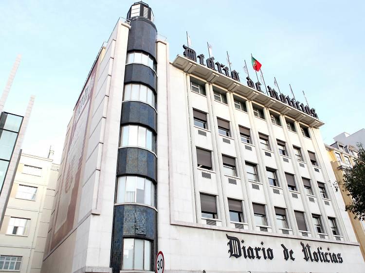 1940 - Edifício do Diário de Notícias