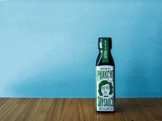 Phakchi soy sauce