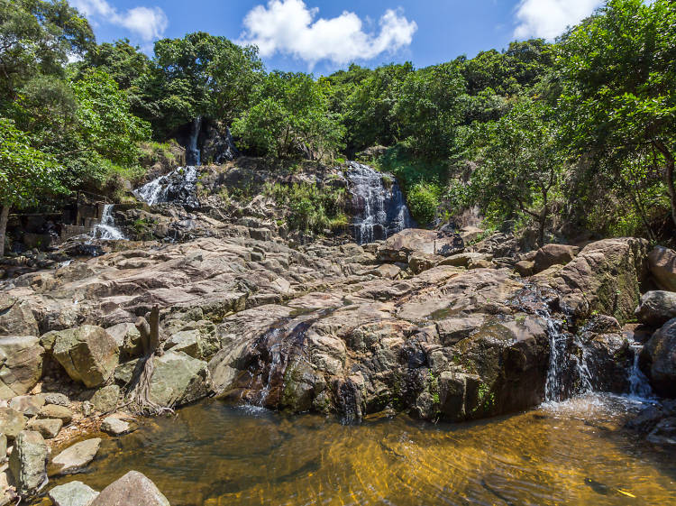Head to the Silvermine Waterfalls