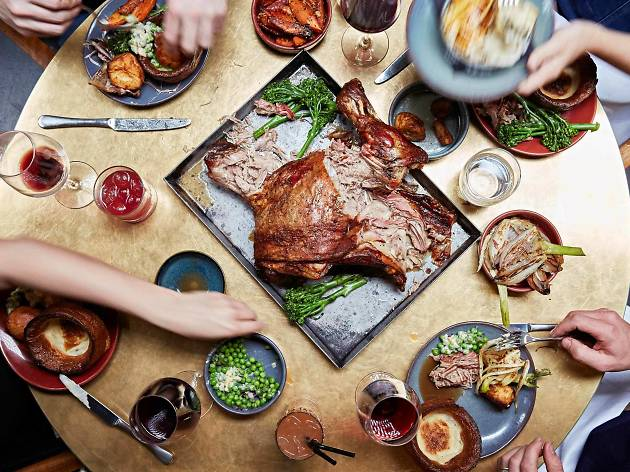 Sunday roast at Temper Soho