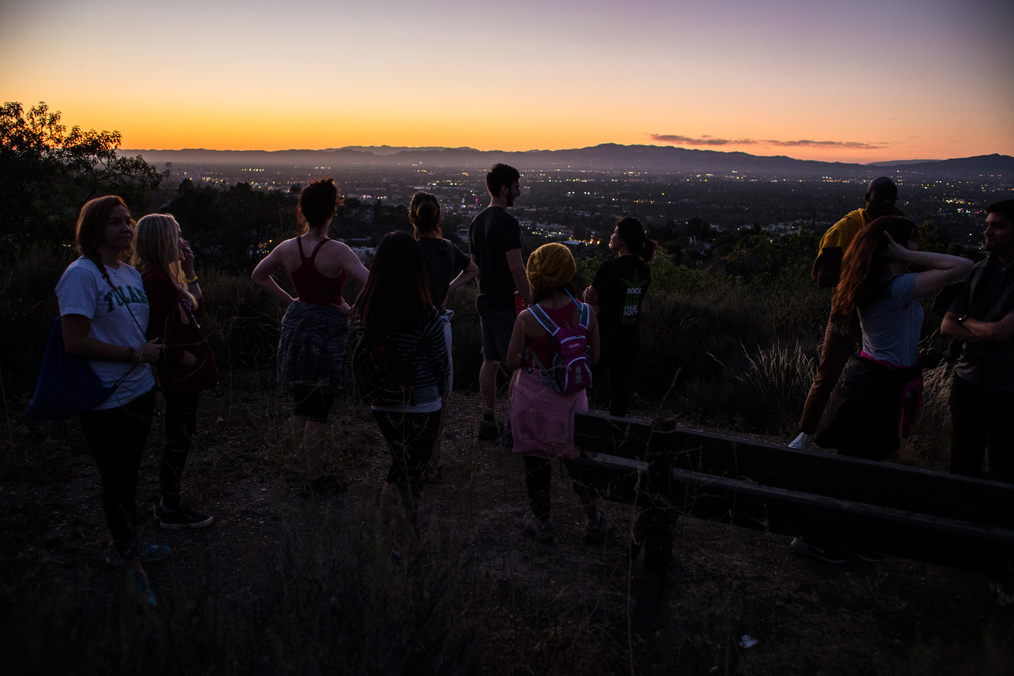 Bring along a flashlight for these night hikes in L.A.