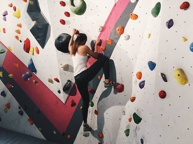The best rock climbing gyms in Singapore