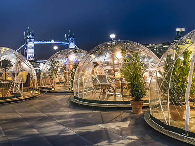 Rejoice: *those* igloos by the Thames are coming back