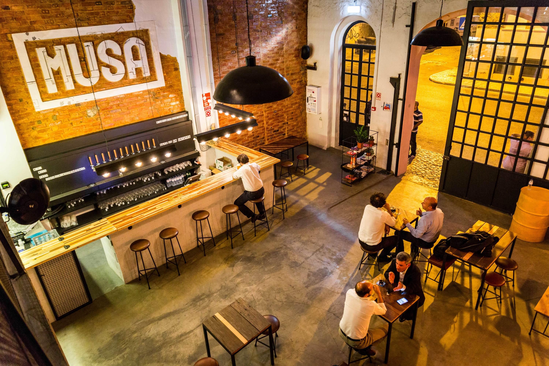 A tap room da Musa em Marvila