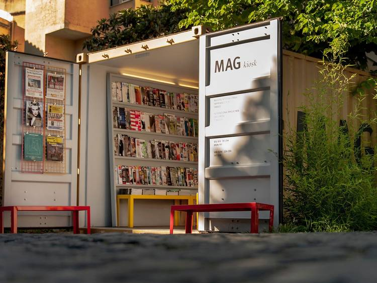 Perder-se no MAG Kiosk