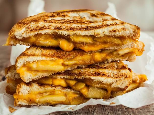 Prepare to stuff your face at Grilled Cheese Meltdown this weekend