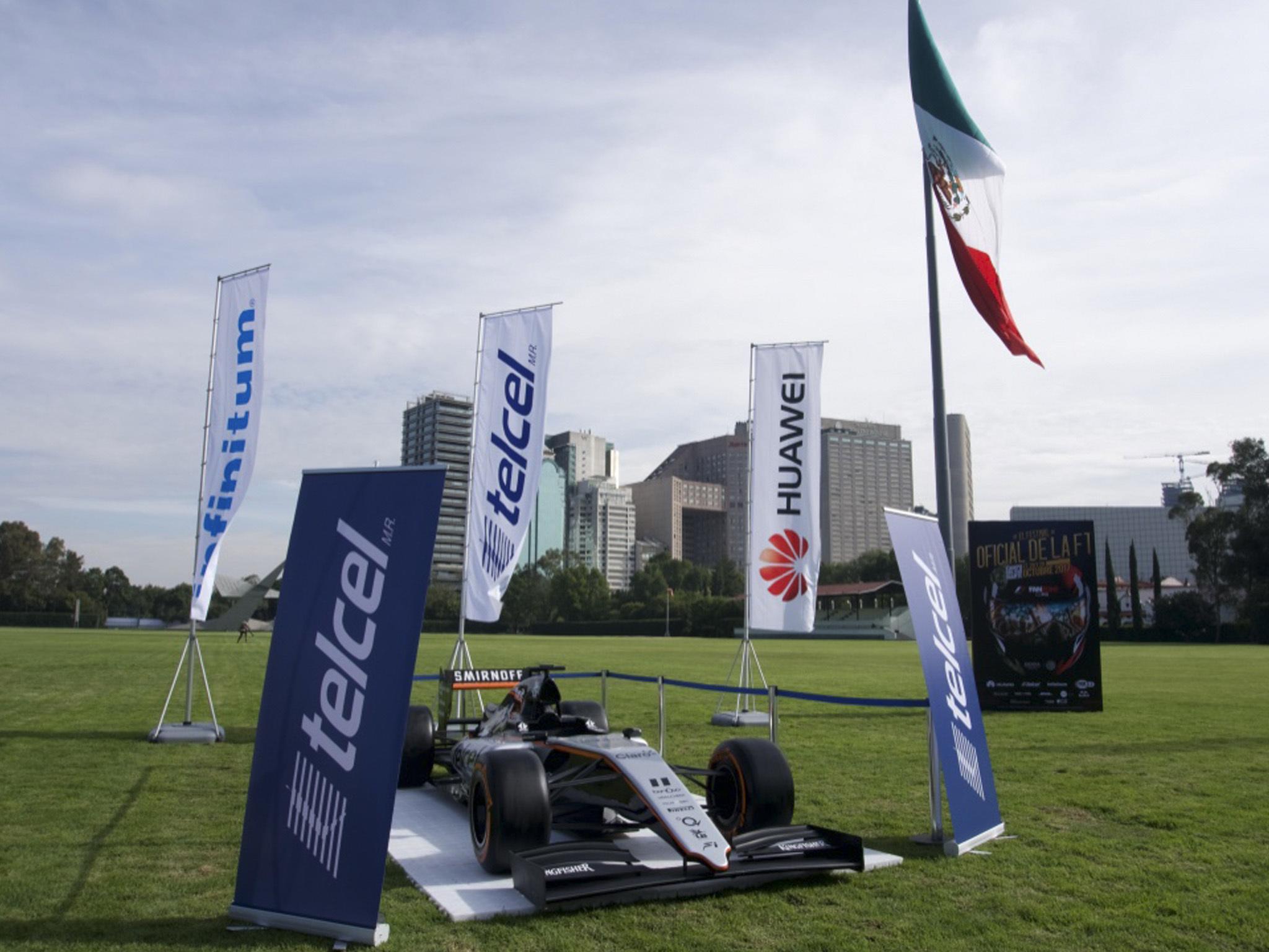 Asistentes al F1 FanZone CDMX 2017