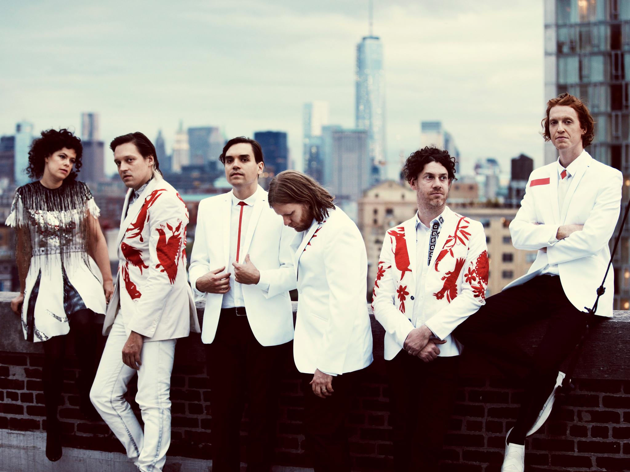 Arcade Fire en la CDMX