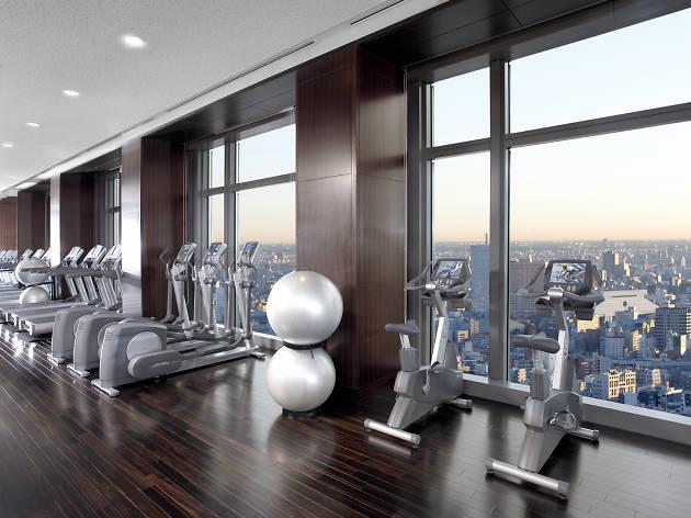 Mandarin Oriental fitness jetlag