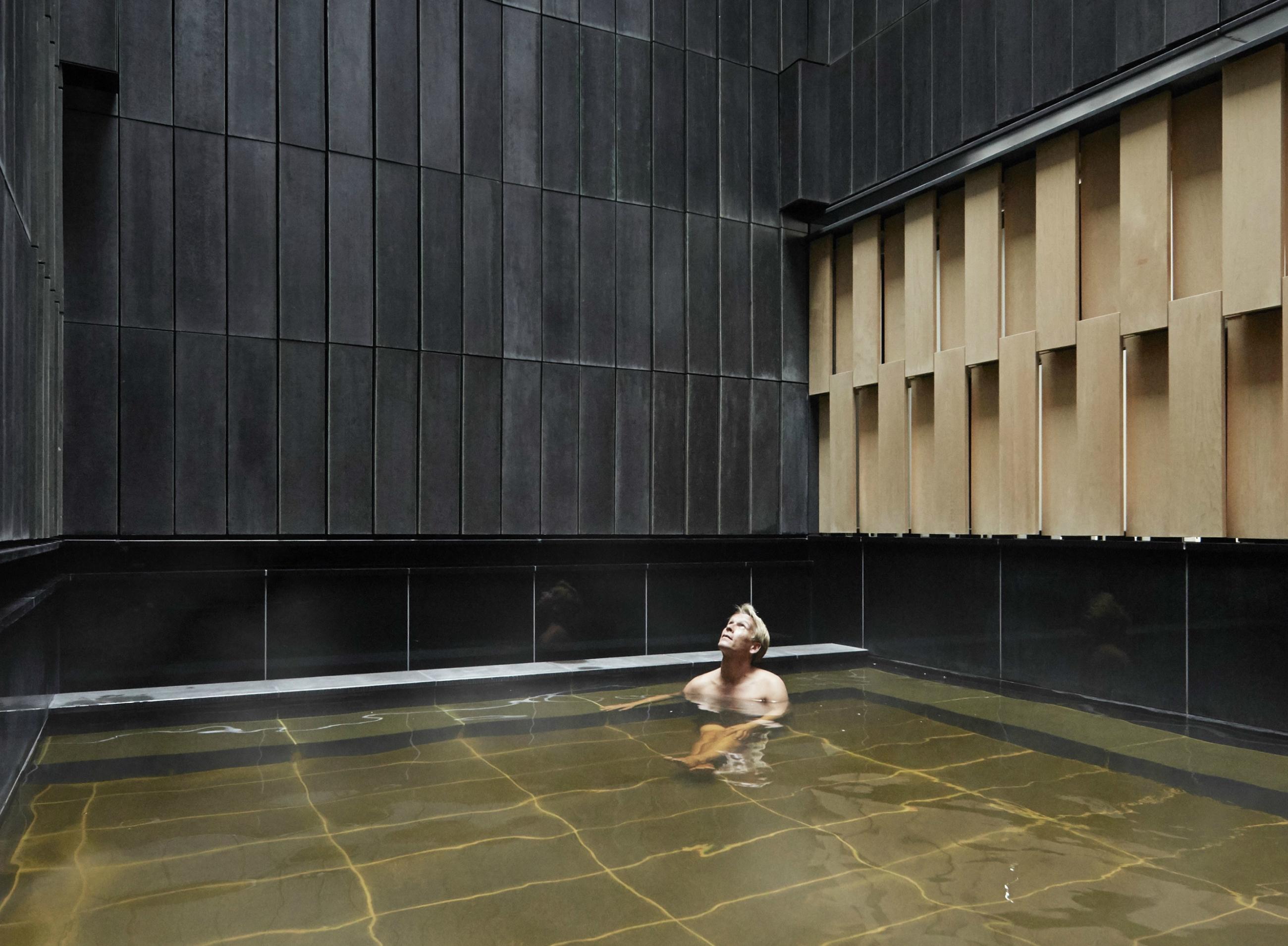 Hoshinoya onsen bath