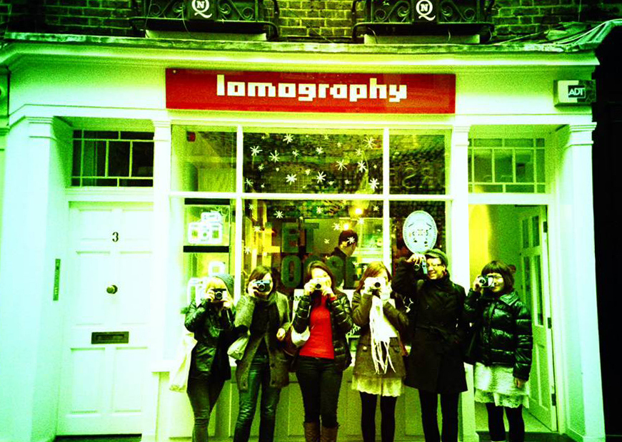 Go retro with the Lomography Gallery Store
