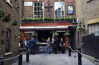 best pubs in covent garden, lamb & flag