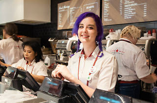 Esme Harrington, Pret a Manger team member