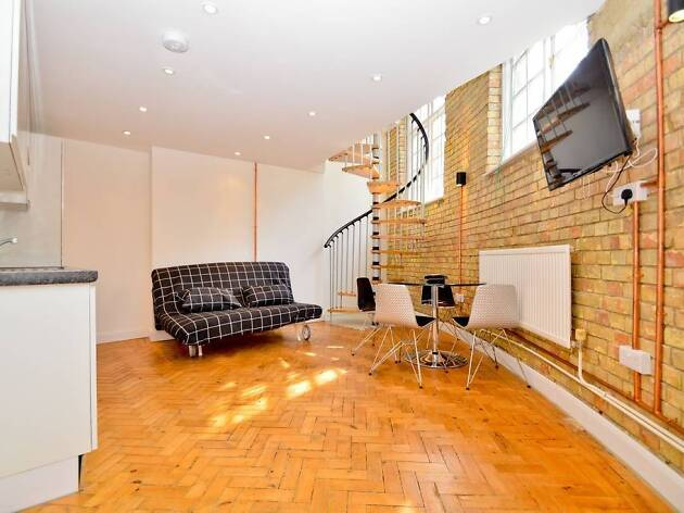 Slick one-bed flat in Shoreditch