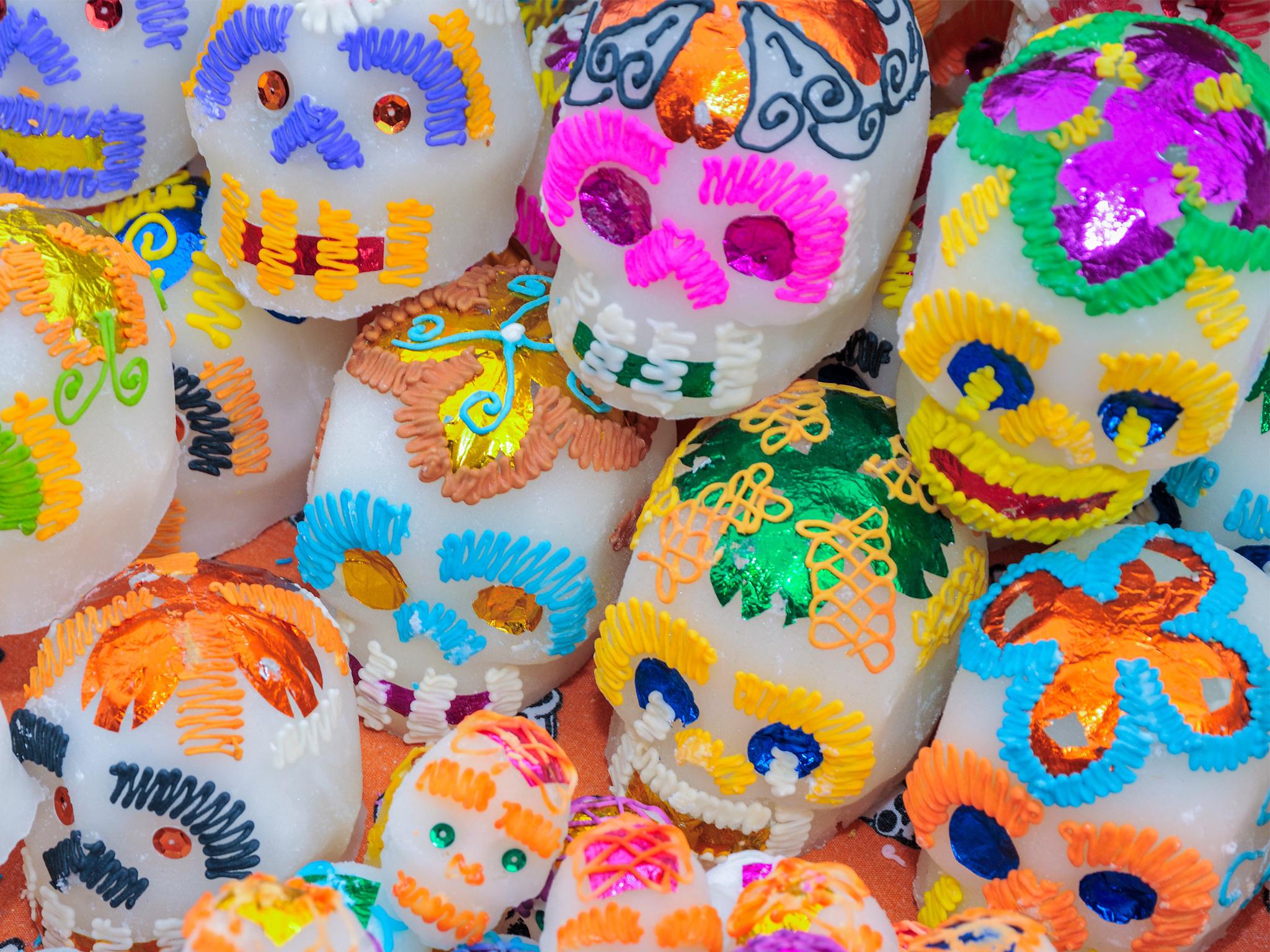 Pre-festejo del Día de Muertos en Bazar La Veganería