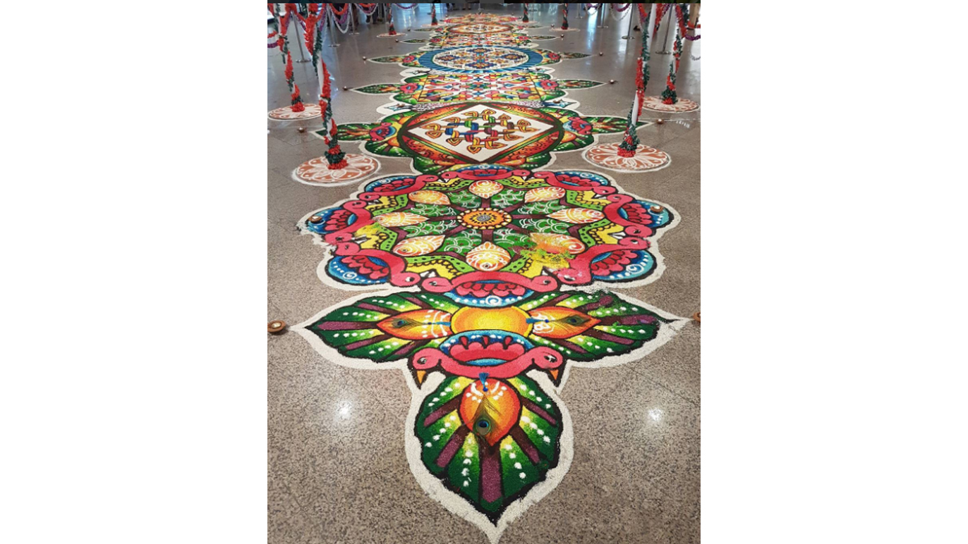 Kolam at Mid Valley Megamall