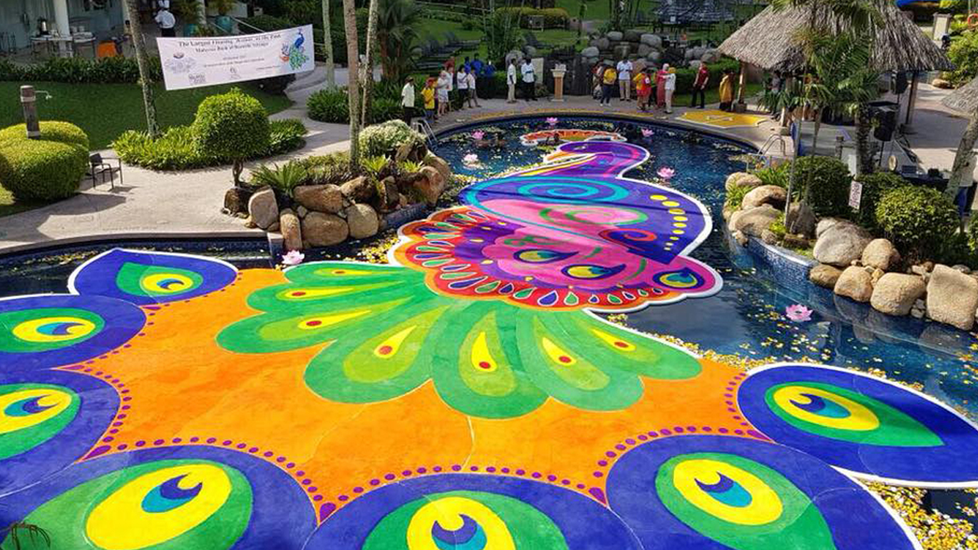 Kolam at Golden Sands Penang