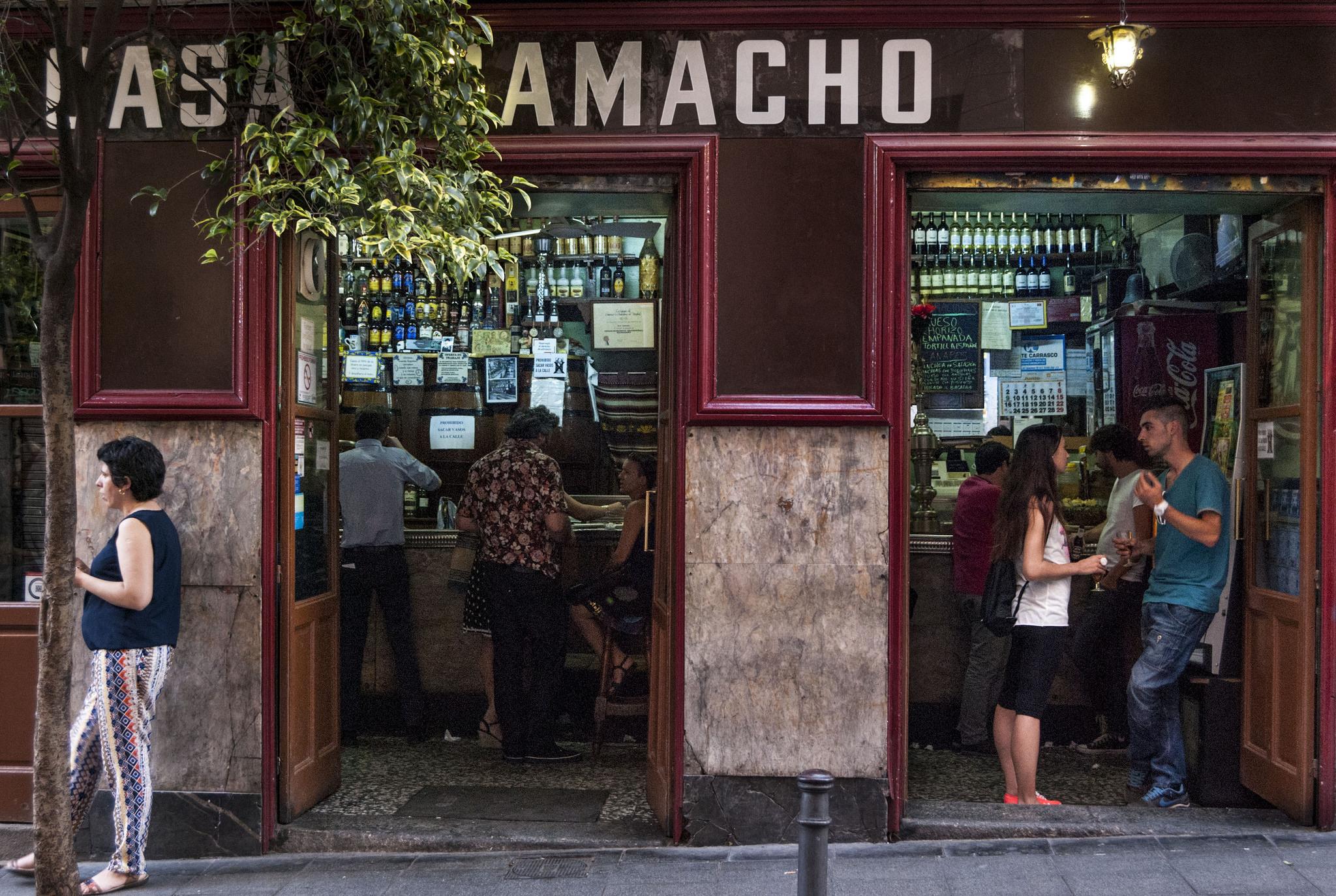Los bares más castizos de Madrid
