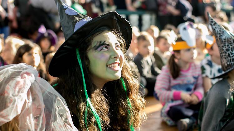 Halloween fun at Horniman Fair
