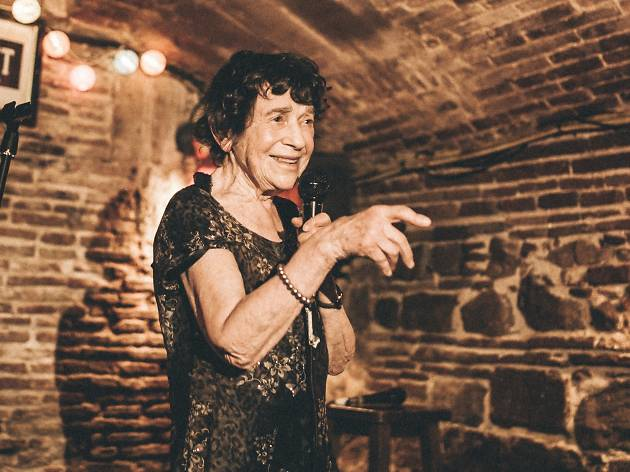 Lynn Ruth Miller, Oldest Female Comic in the World