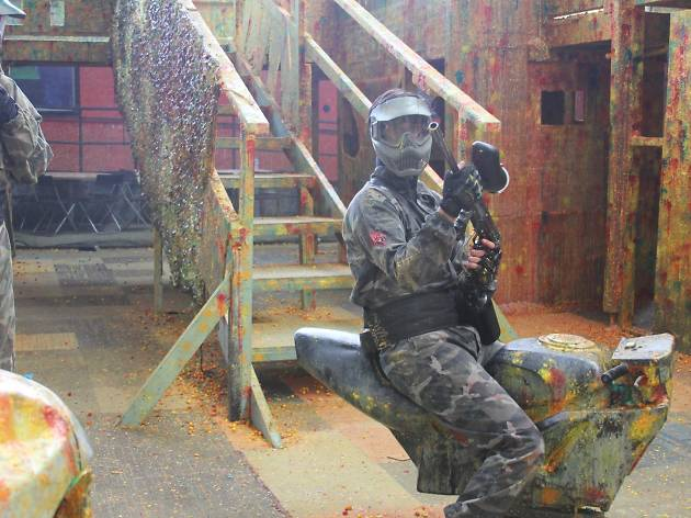 Die Hard Indoor Paintball