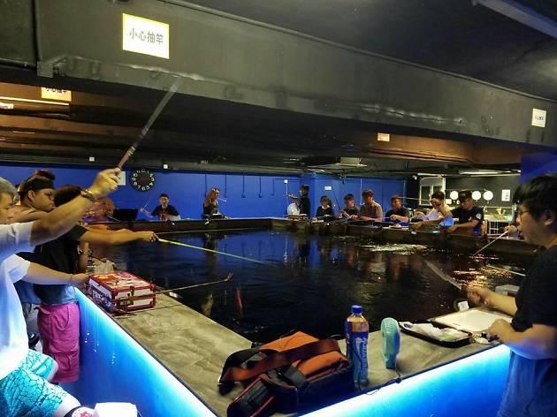 HA Cube 蝦立方休閒娛樂釣蝦場