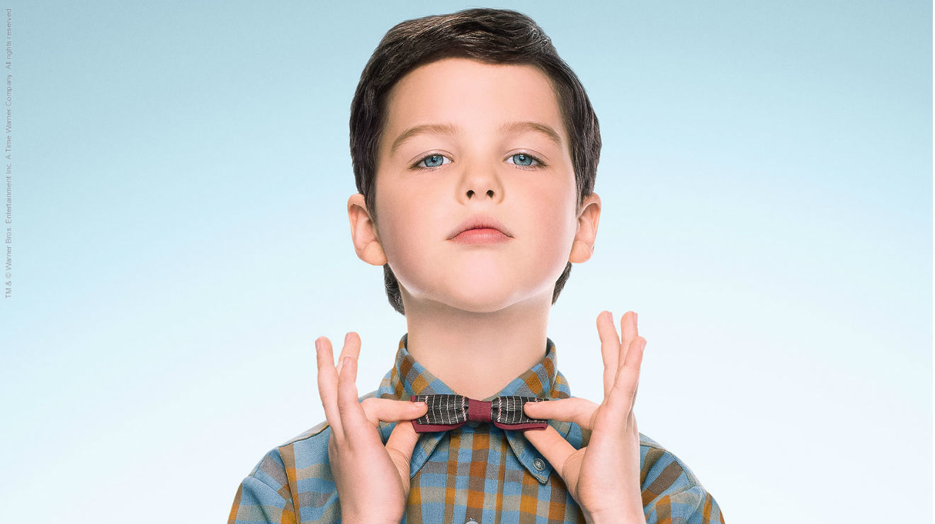 Sheldon Cooper, Serie, Warner Channel, Young Sheldon